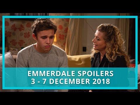 Emmerdale Spoilers | 3rd - 7th December 2018