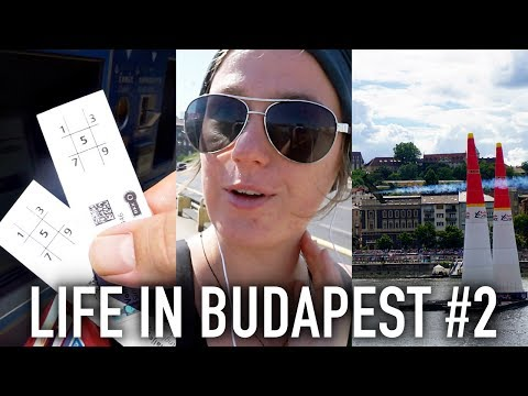 Stuff I Love Right Now, Public Transport & Red Bull Air Race | Life In Budapest #2 🇭🇺
