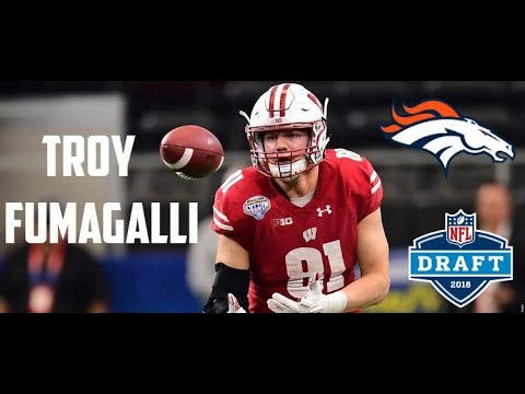 new product c6ef9 70387 2019 Denver Broncos roster review: Tight end Troy Fumagalli ...