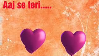 Aaj Se Teri - Padman (Arijit Singh) 320Kbps  Aaj se teri mp3 song   Padman song