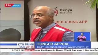 Kenya Red Cross launches an appeal for humanitarian aid to assist residents in hunger affected areas