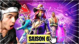 🔴GEMI - ▶️ 'ON DISCOVER' THE PASS OF COMBAT 'SAISON 6'!! NEW SKIN! Fortnite Gameplay Fr✔️