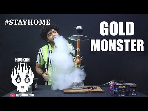 GOLD MONSTER | HOOKAH LORD | CHEAP HOOKAH | WHOLESALE HOOKAH
