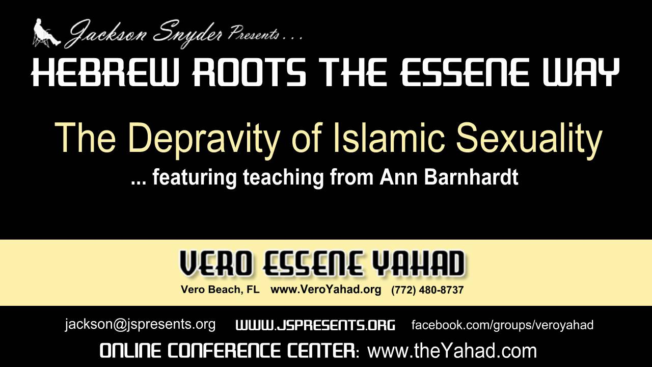 Barnhardt islamic sexuality