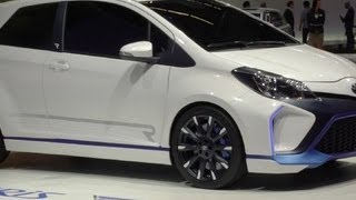 Toyota Yaris Hybrid-R Concept 2013 Videos