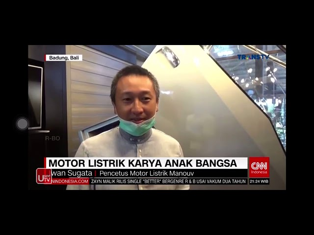 Manouv live on CNN Indonesia!