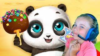 ПАНДА В ПАРКЕ РАЗВЛЕЧЕНИЙ Игры для малышей Смешное видео для детей