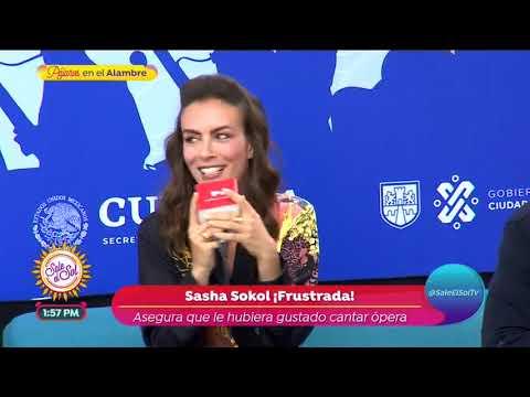 ¡Sasha Sokol Revela Si Miguel Bosé Tiene Cáncer! | Sale El Sol
