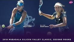 Ashley Kratzer vs. Elise Mertens | 2018 Mubadala Silicon Valley Classic Second Round