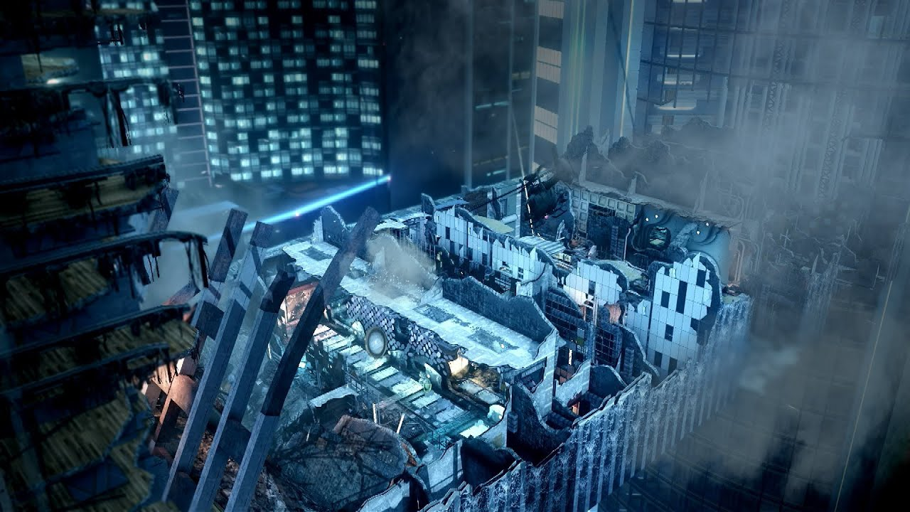 Official Call Of Duty Ghosts Free Fall Gameplay Trailer YouTube