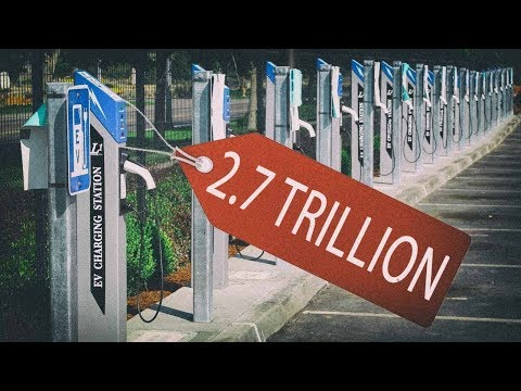$2.7 TRILLION: Electric Car Price Tag For Infrastructure