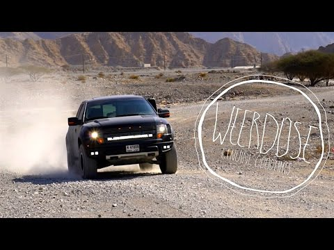 Dubai offroad 4x4 Ras Al-Khaimah, UAE Ford Raptor SVT, DJI MAVIC and Sony a6500 // Weerdose Ep.1