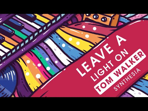 Tom Walker - Leave a Light On - Piano (synthesia)