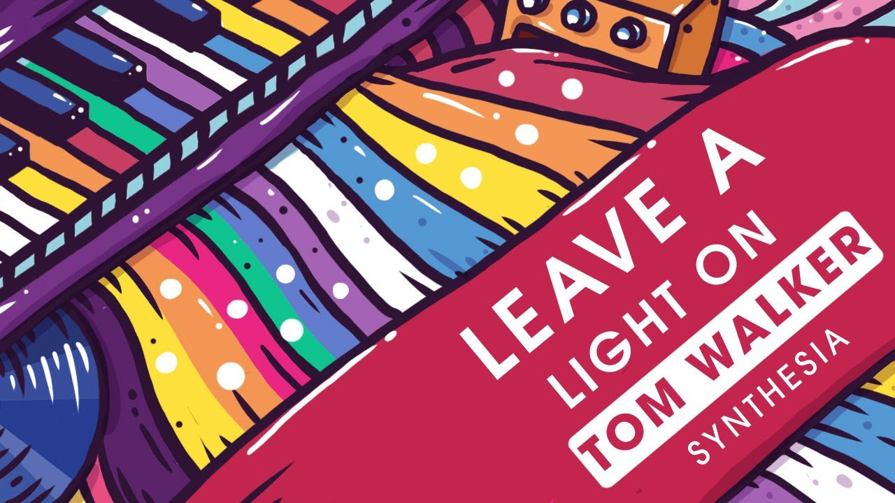 Tom Walker Leave A Light On Piano Synthesia