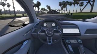 Jaguar I-PACE Virtual Reality - CAR INTERIOR FRONT CENTRE | AutoMotoTV