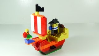 How To Build Lego PIRATE SHIP - 4628 LEGO® Fun with Bricks Building Ideas for Kids