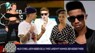 Lil Twist, Bieber og Cyrus laver Twerk sang