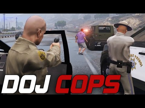 Dept. of Justice Cops #99 - Code 5 (Law Enforcement)
