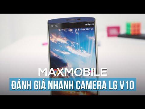 Đánh giá nhanh camera LG V10: Tự sướng siêu rộng!