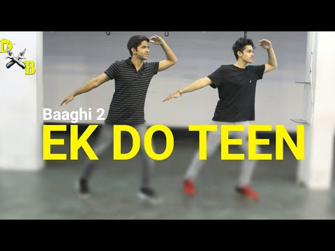 Ek Do Teen Song Dance Choreography - Baaghi 2 | Jacqueline Fernandez | DXB Dance Studio