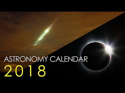 Astronomy Calendar For 2018