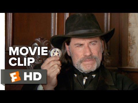 In a Valley of Violence Movie CLIP - I am the Marshall (2016) - John Travolta Movie