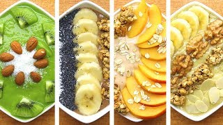 Super 4 Healthy Smoothie Bowl Recipes | Weight Loss Smoothies