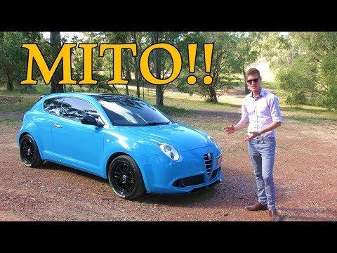 2009 Alfa Romeo Mito Review!!