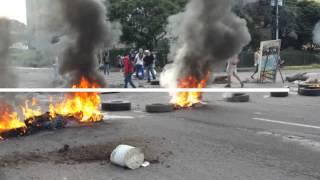 Enfrentamientos Las Vegas de Táriba, municipio Cárdenas estado Táchira.