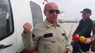 Летчик-испытатель Андрей Федоров  о первом полете первого вертолета Мотор Сич
