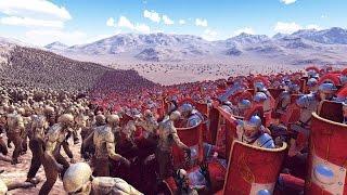300 Espartanos VS 20.000 Persas   Ultimate Epic Battle Simulator