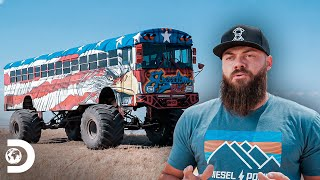 Súper Autobús ecológico todo terreno: Parte 2 | Diesel Dave | Discovery Latinoamérica