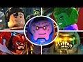 LEGO DC Super Villains - All Bosses & Ending