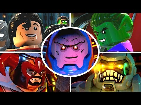 LEGO DC Super Villains  All Bosses & Ending