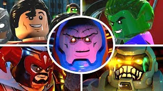 LEGO DC Super Villains - All Bosses & Ending