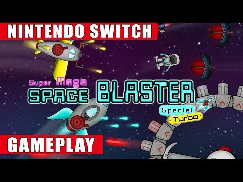 Super Mega Space Blaster Special Turbo Nintendo Switch Gameplay