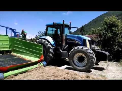 Biogas Plant Management Crew - Testing Budissa Bagger RT 8000
