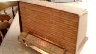 GE Musaphonic AM FM Dual Speaker 1958