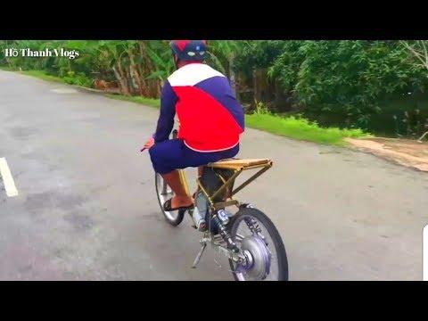 Xe Đạp Điện Độ Chạy 70Km/h Ghê Quá | Hồ Thanh Vlogs
