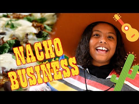 Best Nachos in the WORLD! Easy Recipe for kids- NACHO BUSINESS