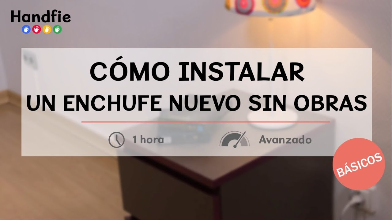 C mo instalar un enchufe nuevo sin obras handfie diy for Como instalar un enchufe