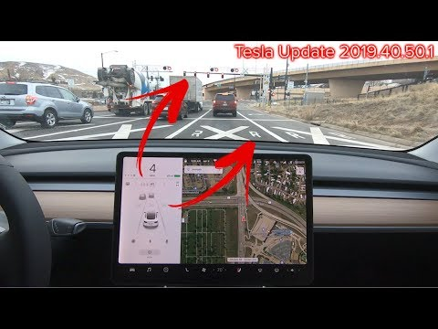 Tesla Autopilot 3 FSD Preview - First Look at New Visualizations and Features