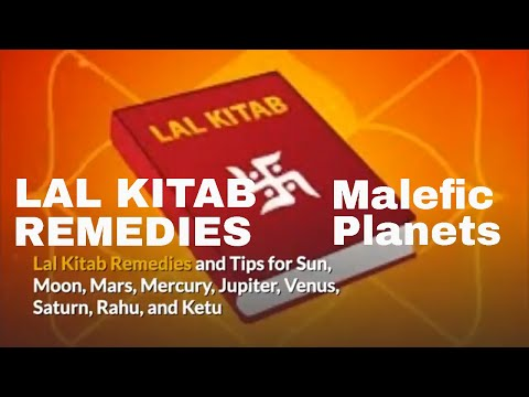 Lal Kitab Remedies and Tips for Sun, Moon, Mars, Mercury, Jupiter