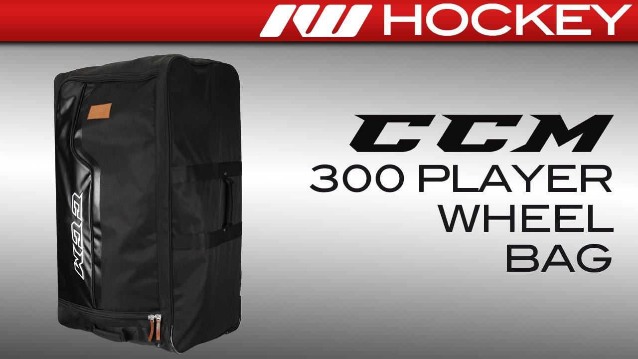 67c575d02e9 CCM 300 Wheeled Hockey Bag Review - YouTube