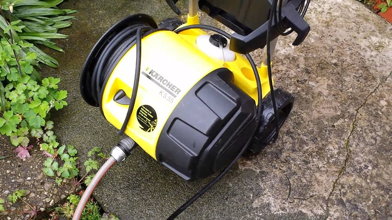 karcher pressure washer in action3 youtube. Black Bedroom Furniture Sets. Home Design Ideas