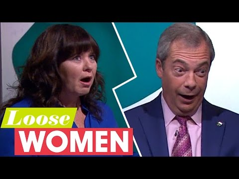 Nigel Farage Plays Snog Marry Avoid With Political Leaders | Loose Women