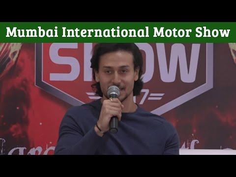 Tiger Shroff At Mumbai International Motor Show 2017 Launch