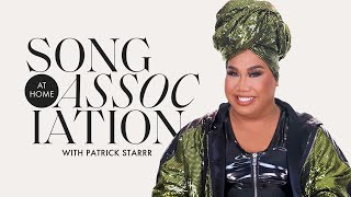 "Patrick Starrr Sings Alicia Keys, Whitney Houston, and ""GO OFF"" in a Game of Song Association 