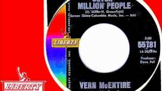 Vern McEntire - SEVEN MILLION PEOPLE  (Blossoms)  (1965)