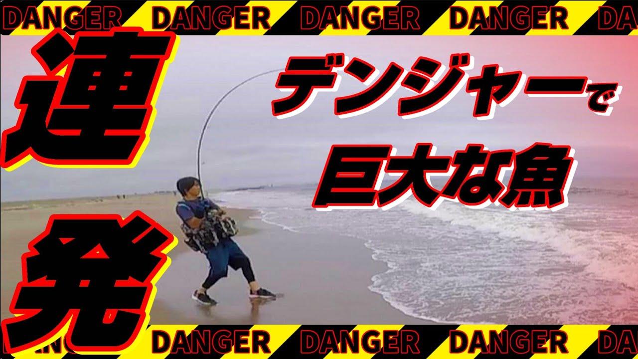 【衝撃】この連発はヤバい・・・~磯青物・サーフ釣行~